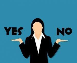 sí y no